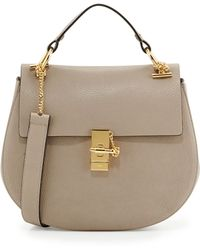 Chloé Drew Medium Chain Shoulder Bag - Lyst