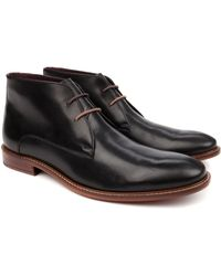 Ted Baker Classic Derby Boots - Lyst