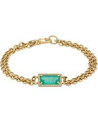 Irene Neuwirth Diamond Collection Gemstone Bracelet - Lyst
