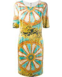 Dolce & Gabbana Baroque Print Dress - Lyst