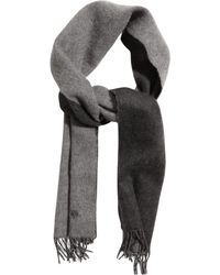 Mulberry Wool and Cashmereblend Scarf - Lyst