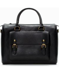 Zara Office Briefcase - Lyst