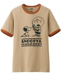 Uniqlo Men Peanuts Graphic Short Sleeve T Shirt - Lyst