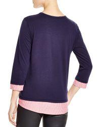 Clu Too - Shirt Tail Top - Lyst