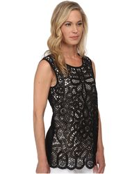 Nic+zoe Petite Free Lace Top - Lyst