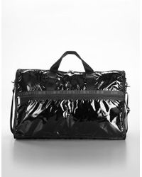 LeSportsac - Patent Coated Nylon Weekender Bag - Lyst
