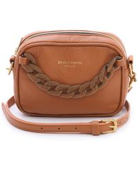 Deadly Ponies Mr Cub Chain Clutch Rust brown - Lyst