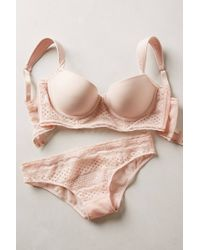 Stella McCartney Blushed Ava Bikini - Lyst