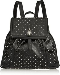 Alexander McQueen - Studded Leather Backpack - Lyst