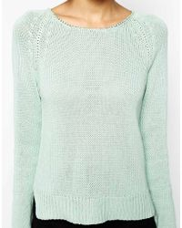 Greylin Lori Chain Sweater - Lyst