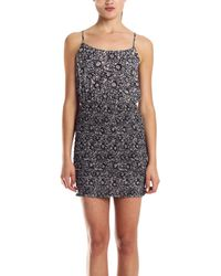 Joie Joa Dress In Caviar - Lyst