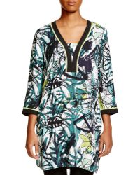 NIC+ZOE - Graffiti Abstract Print Tunic - Lyst