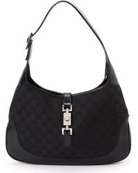 Gucci Black Jackie Shoulder Handbag - Lyst