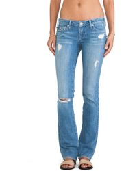 True Religion Billy Low Rise Straight - Lyst