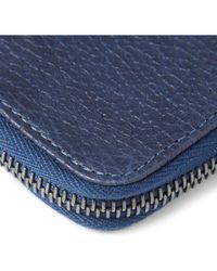 Parabellum - Courier Zip-Around Leather Wallet - Lyst