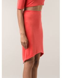 Sam & Lavi Rhea Asymmetric Skirt - Lyst