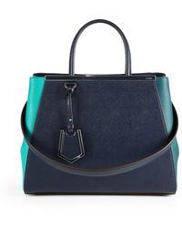 Fendi 2Jours Colorblock Medium Shopper - Lyst