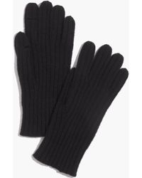 Madewell Ribbed Texting Gloves - Lyst