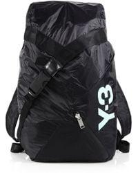 Y-3 Fs Backpack black - Lyst
