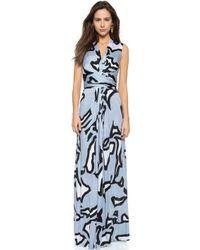 Issa Hazelle Dress - Grey - Lyst