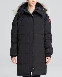 Canada Goose Down Coat - Shelburne Parka - Lyst