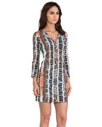 Diane Von Furstenberg New Reina Dress - Lyst