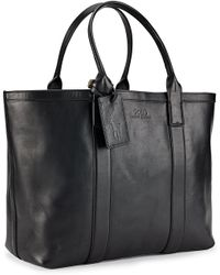 Polo Ralph Lauren | Classic Leather Tote | Lyst