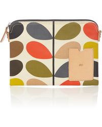 Orla Kiely | Classic Multi-coloured Stem Print Travel Pouch | Lyst