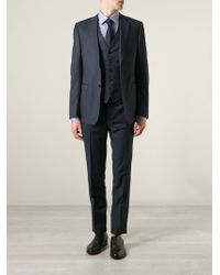 Ermenegildo Zegna Three Piece Suit - Lyst