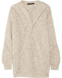 Thakoon - Mélange Cable-Knit Jumper - Lyst