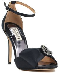 Badgley Mischka Tess Crystal Evening Shoe - Lyst