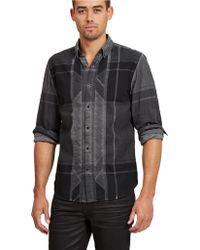 Guess Modern Fit Cash Plaid Sport Shirt - Lyst