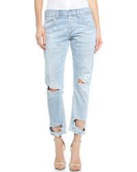 Citizens Of Humanity Emerson Distressed Jeans - Wasteland - Lyst