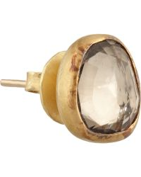 Munnu - 22-Karat Gold Zircon Earrings - Lyst