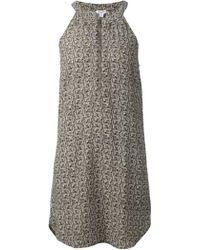 Splendid Printed Zip Up Dress - Lyst