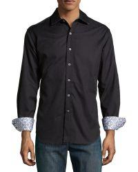 Robert Graham Windsor Jacquard Sport Shirt - Lyst
