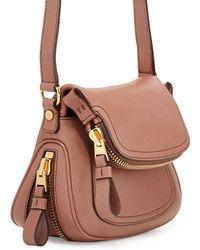 Tom Ford Jennifer Calfskin Mini Crossbody Bag - Lyst