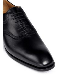 Rolando Sturlini | 'parma' Brogue Detail Leather Oxfords | Lyst