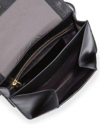 Time's Arrow - Calfskin Chevron-detail Belt Bag - Lyst