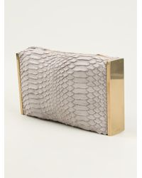 Lanvin Private Clutch - Lyst
