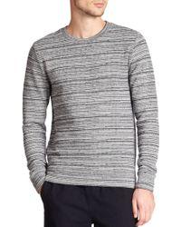 A.P.C. Retro Jacquard Sweatshirt blue - Lyst