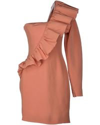 Viktor & Rolf Orange Short Dress - Lyst