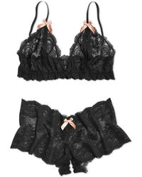 Hanky Panky After Midnight Peekaboo Bralette - Lyst