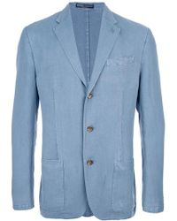 Ralph Lauren Blue Label Three-button Jacket - Lyst