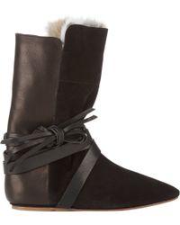 Isabel Marant Nia Boots - Lyst