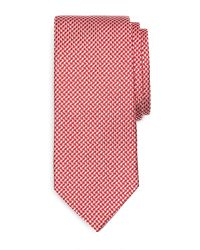 Brooks Brothers Houndstooth Tie - Lyst