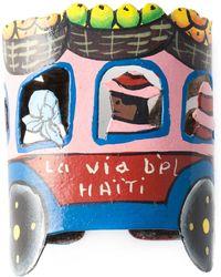 Stella Jean - Cut-Out Haïti Bracelet - Lyst