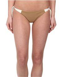 Mikoh Swimwear Zuma Basic Fuller Cut Bottom brown - Lyst