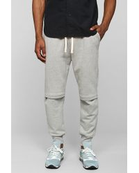 Drifter Cade Grey Engineer Knee Jogger Pant - Lyst