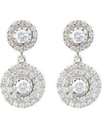 Ileana Makri Double-Solitaire Drop Earrings - Lyst